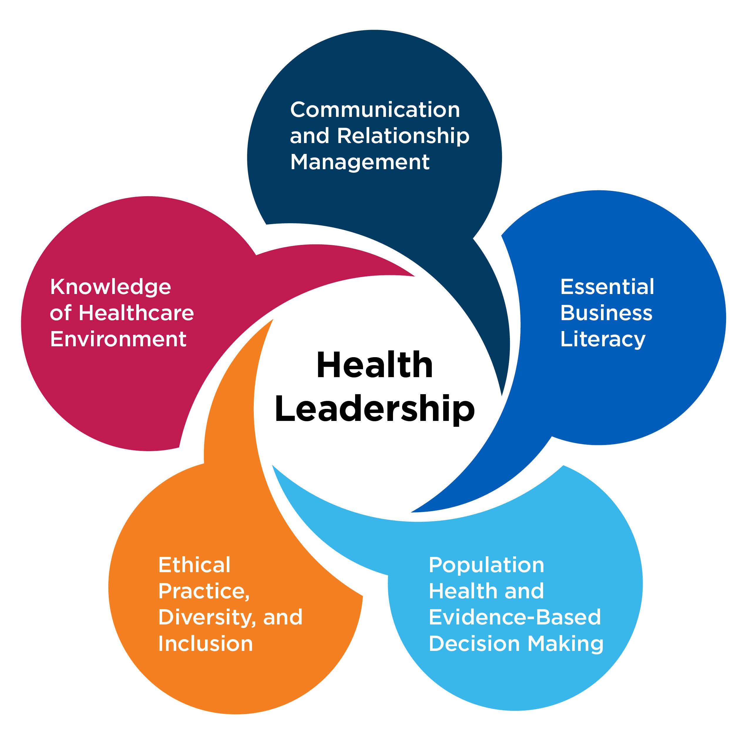 Health Leadership Graphic